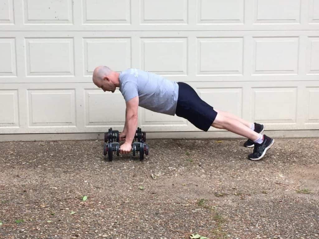 Plank to Row 1